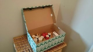 How To Create A Cute Storage Box - DIY Crafts Tutorial - Guidecentral