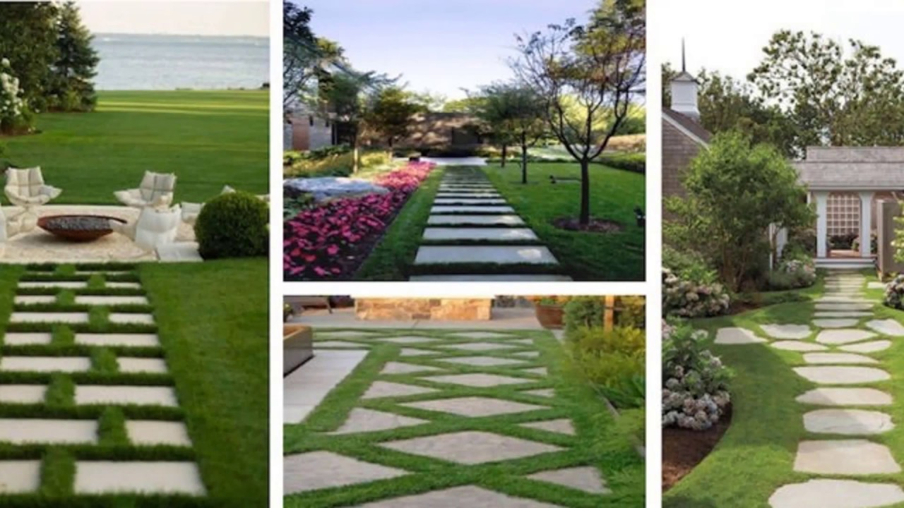 Landscape Pathways | Driveway Design | Pathways | 13 | Ideas - YouTube