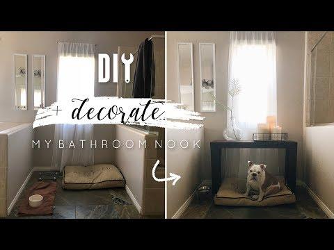 DIY Bathroom Nook Decor + Giveaway!