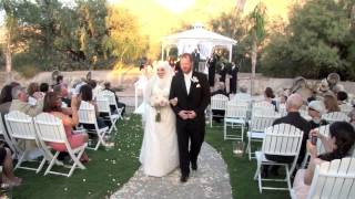 Tucson Wedding Videography- Reflections at the Buttes