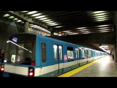 montreal metro ride st laurent station to pie ix youtube. Black Bedroom Furniture Sets. Home Design Ideas
