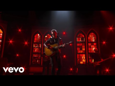 """Eric Church Delivers Full Throttle Live Performance Of """"Bunch Of Nothing"""" At The ACMs"""