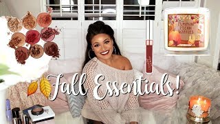 Fall Favorites! Beauty & Lifestyle Essentials You NEED!!