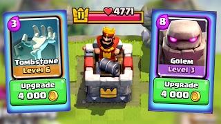 Let's Play Clash Royale #67: UPGRADES! Smashing Level 11s