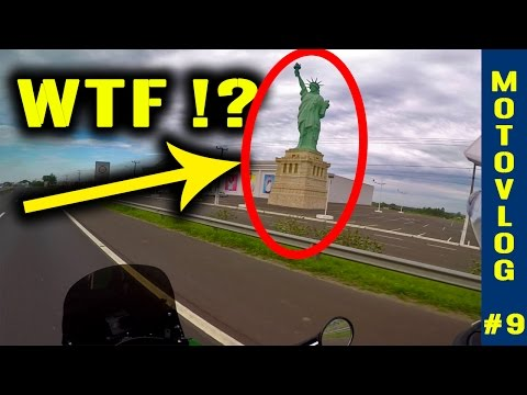 BRAZIL - On the Road Again After Fixing the Bike! Porto Alegre to Florinapolis [MOTOVLOG #9]