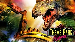 The Theme Park History of Jurassic Park: The Ride (Universal Studios Hollywood)