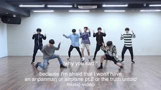 bts crack / things you didn't notice in fake love choreography version