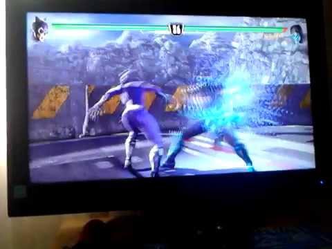 MK vs DC Universe - Evil Angel vs Darkness & Nexus