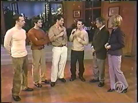 98 Degrees on Live with Regis *Una Noche*