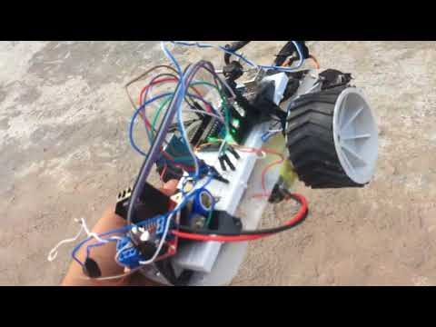 Arduino Metal detector Robot vehicle