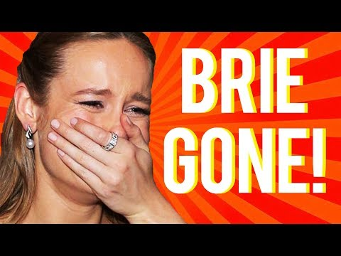 BRIE LARSON EDITED OUT OF AVENGERS ENDGAME MOVIE !?!