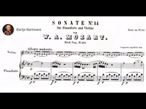 Mozart - Violin Sonata No. 26, B-flat Major. K 378 [Szeryng/Haebler]