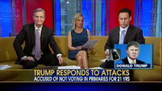 Trump Comments on Voting Record, Robert De Niro's Attack