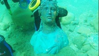 מטען עתיק, מרהיב וחשוב של ספינה טרופה התגלה בקיסריה ע