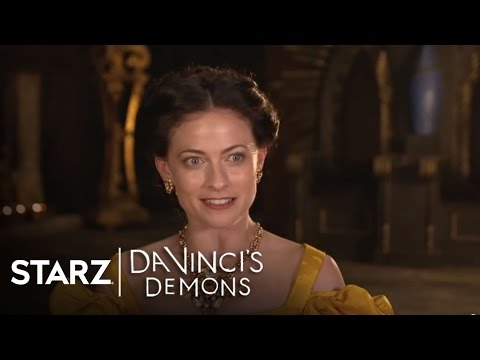 Da Vinci's Demons  Lara Pulver as Clarice Orsini  STARZ