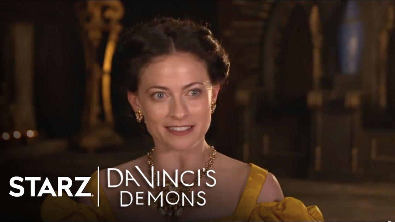 Da Vinci S Demons Lara Pulver As Clarice Orsini Starz