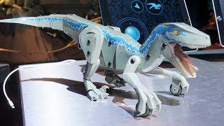 Jurassic World Kamigami Robot at Mattel Toy Fair 2018