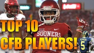 ESPN RANKED THE TOP 50 COLLEGE FOOTBALL PLAYERS!!! Here