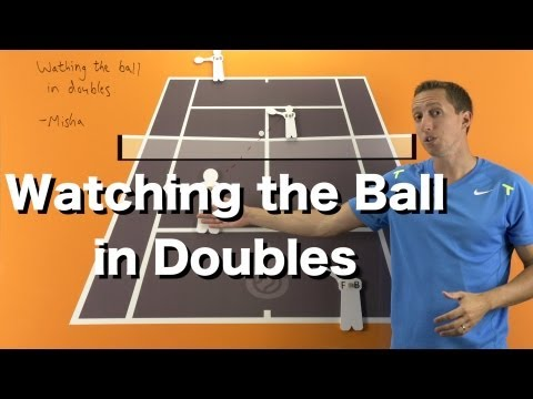 Thumbnail: How to Watch the Ball in Doubles - Tennis Doubles Strategy Lesson