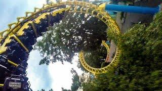 We Kept Riding the Carolina Cyclone Roller Coaster at Carowinds!
