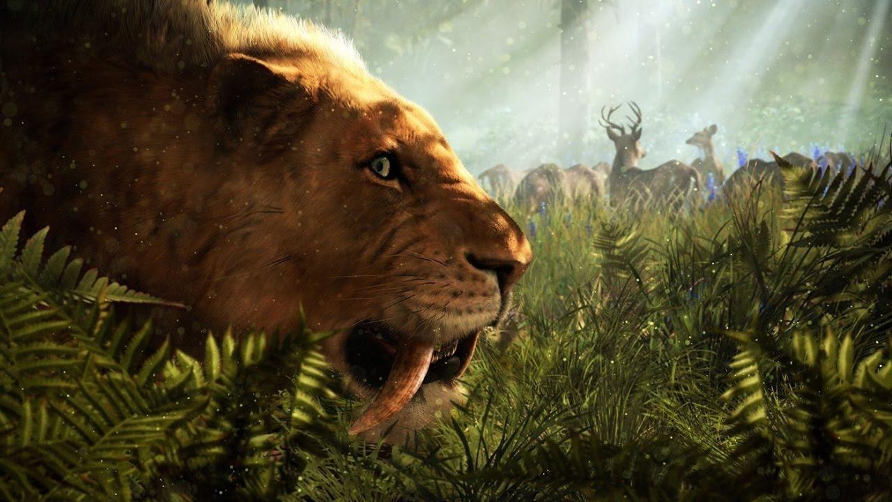 Far Cry Primal Nei Territori Della Tigre Con I Denti A Sciabola E