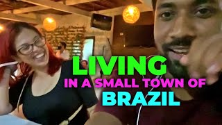 LIVING in a SMALL TOWN of BRAZIL | Brazil Nightlife | Brazilian Girls | Streets of Brazil#travel2021