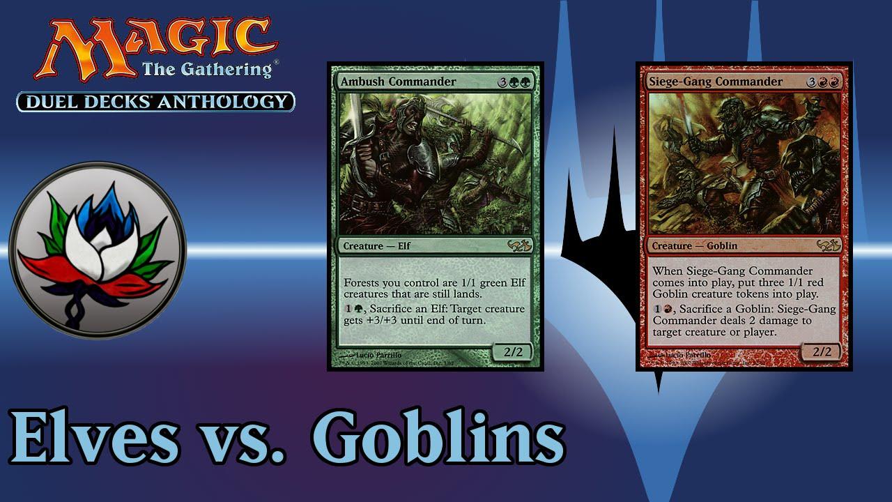 Slate of Ancestry ~ Elves vs ~ Magic The Gathering Goblins ~ Excellent