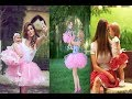 Mother-daughter photo. Now, this is cool Mom and daughter photo ideas . ,Nowrin Sadia