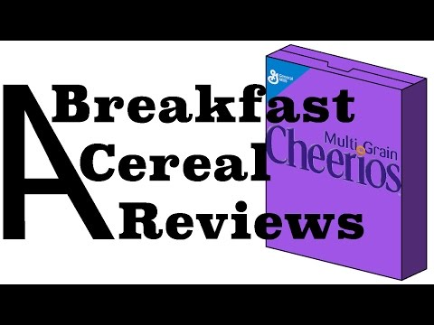ABCR - Multi Grain Cheerios - Angelejandro Breakfast Cereal Review