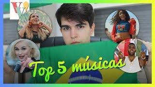 TOP 5 Melhores MÚSICAS da Copa 2018