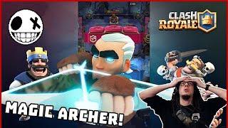 Ще успея ли да го отключа!? - Magic Archer Draft Challenge в Clash Royale