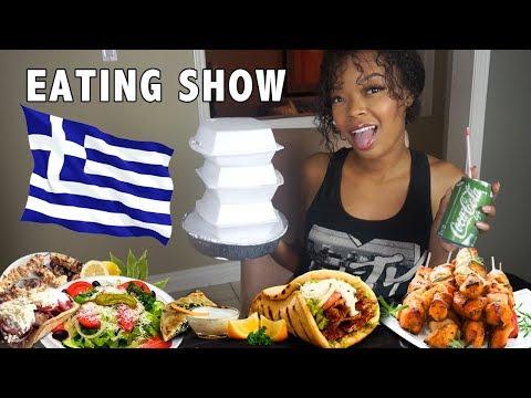 EPIC Greek Food Mukbang!! (Talking About Boys and Ranting)