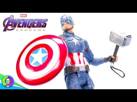 """SCALE ARMOR CAPTAIN AMERICA"" Avengers Endgame Figure Review 