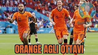 OLANDA AUSTRIA 2-0: DEPAY E DUMFRIES PORTANO L'OLANDA AGLI OTTAVI. EURO 2020 GRUPPO C