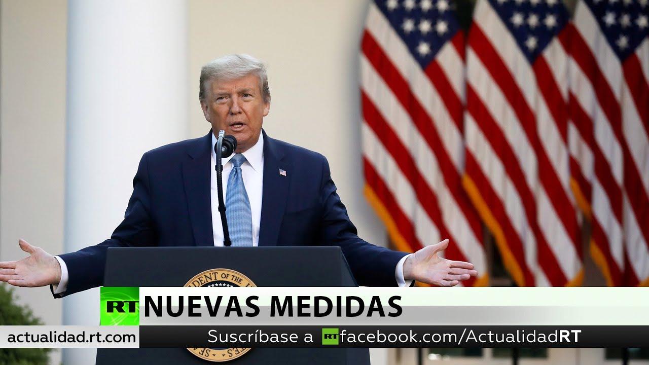Trump anuncia terminar con la cuarentena....... y la OMS dice....