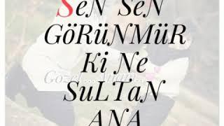 Canim sene qurban ana (whatsapp status ucun video) 2018
