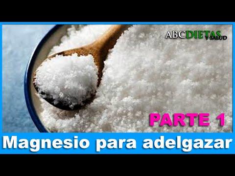Dosis cloruro de magnesio para adelgazar