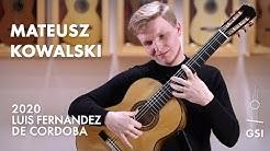 Agustín Barrios' 'Contemplación' played by Mateusz Kowalski on a 2020 Luis Fernandez de Cordoba