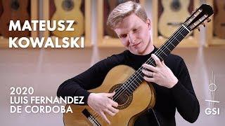 """Agustín Barrios' """"Contemplación"""" played by Mateusz Kowalski on a 2020 Luis Fernandez de Cordoba"""