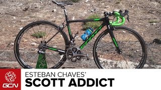 Esteban Chaves' Scott Addict | Vuelta A España 2016
