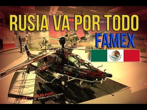 Rusia Insiste En Armar A México Y LATAM   ¡Sorpresas Para La FAMEX!