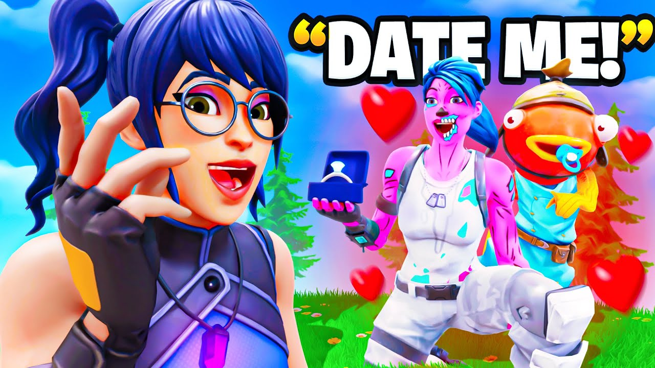 I Asked My CRUSH To Be My GIRLFRIEND... (Fortnite)