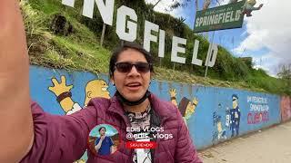 EL BAR DE LOS SIMPSON en la VIDA REAL   Edis Vlogs