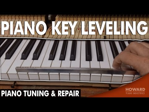 Piano Tuning & Repair - Piano Key Leveling