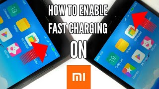 How to Enable Quick Charge On Any Xiaomi Device!Redmi Note 4/Redmi 4