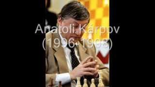 campeones del mundo de ajedrez (1)