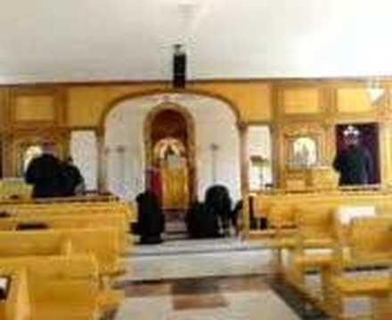 lenten prayer at syrian orthodox monastery of mar afrem