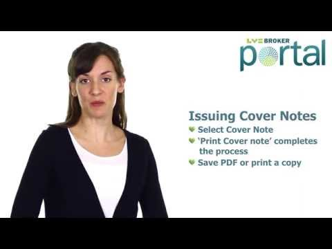 Broker Portal – How to Guide for Online Fleet Cover Notes