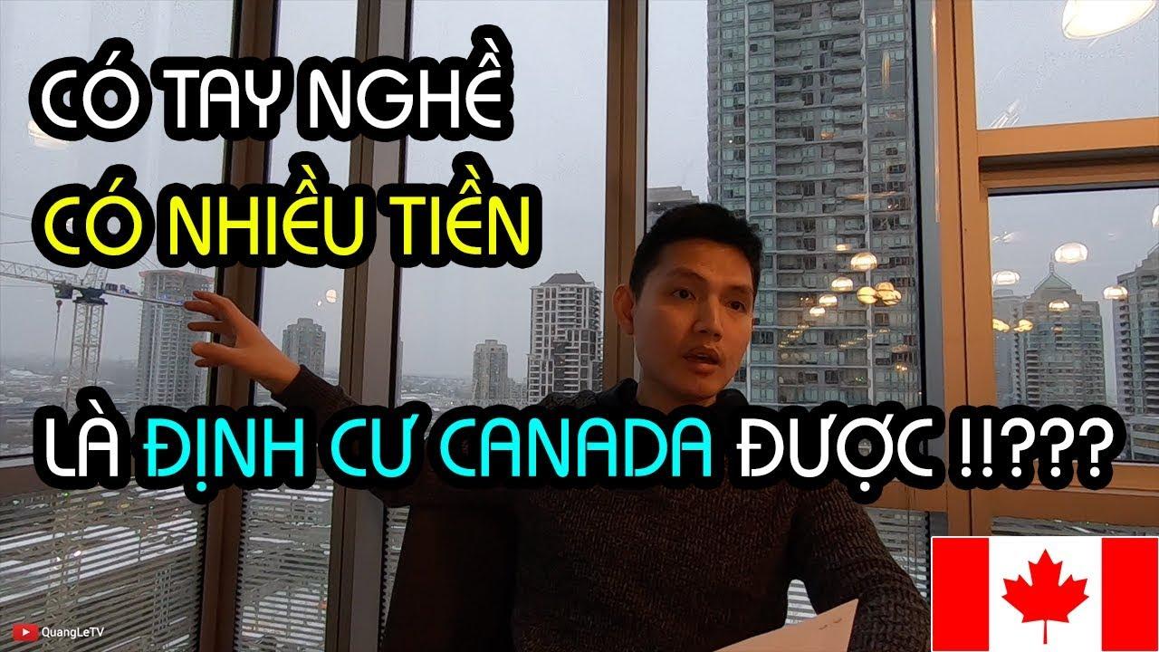 ĐỊNH CƯ CANADA 2019: DIỆN ĐẦU TƯ & DIỆN TAY NGHỀ - NHỮNG CON ĐƯỜNG ĐẾN CANADA