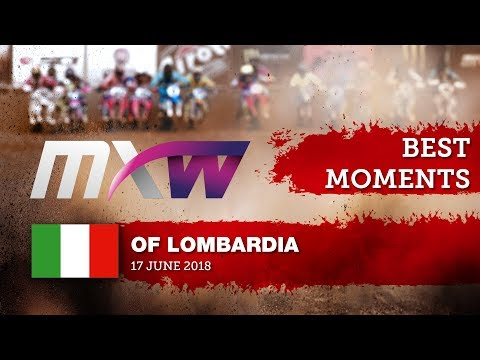 WMX Race 1 Best Moments - FIAT Professional MXGP Of Lombardia 2018 #motocross